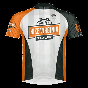 2014 Bike Virginia Tour Jersey (FRONT)