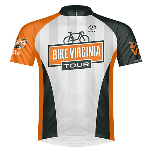 2014 Bike Virginia Tour Jersey (FRONT)