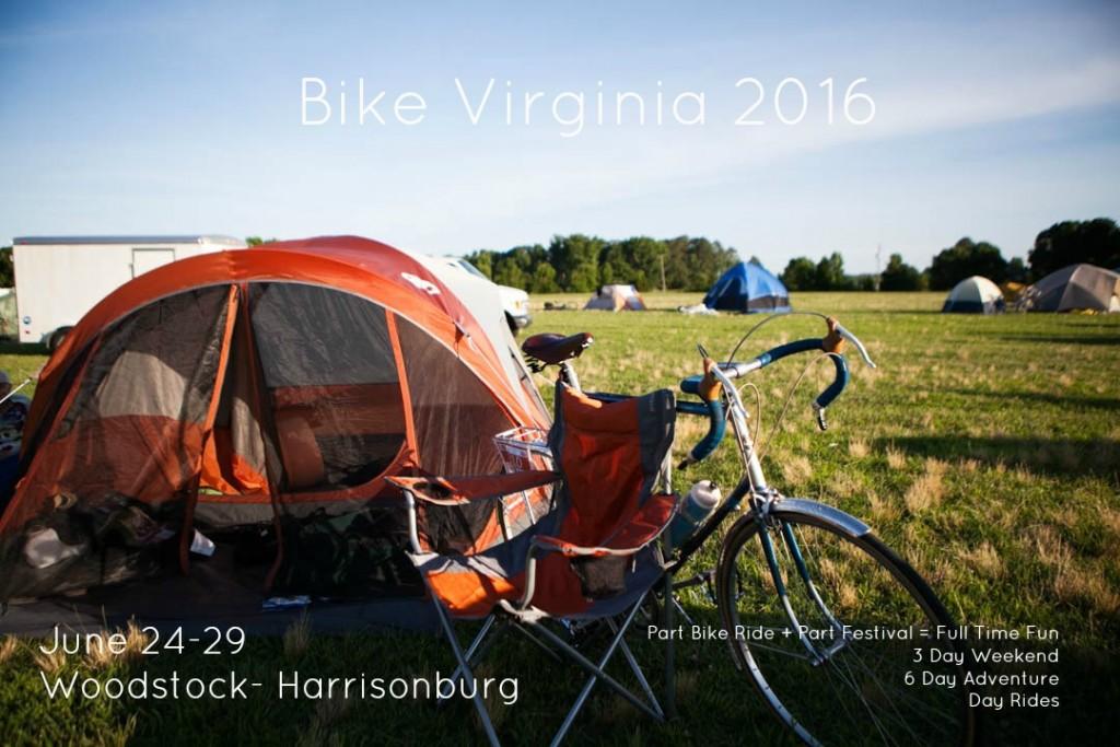 2016 BIKE VIRGINIA TOUR
