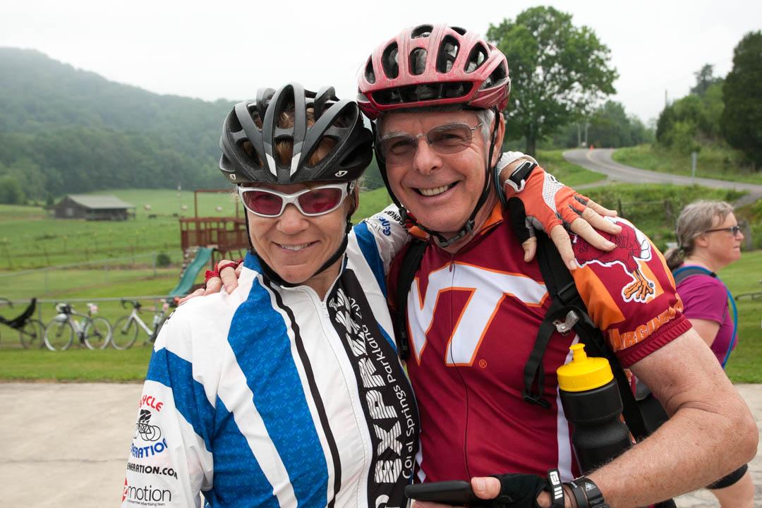 Bike Virginia Tour Riders