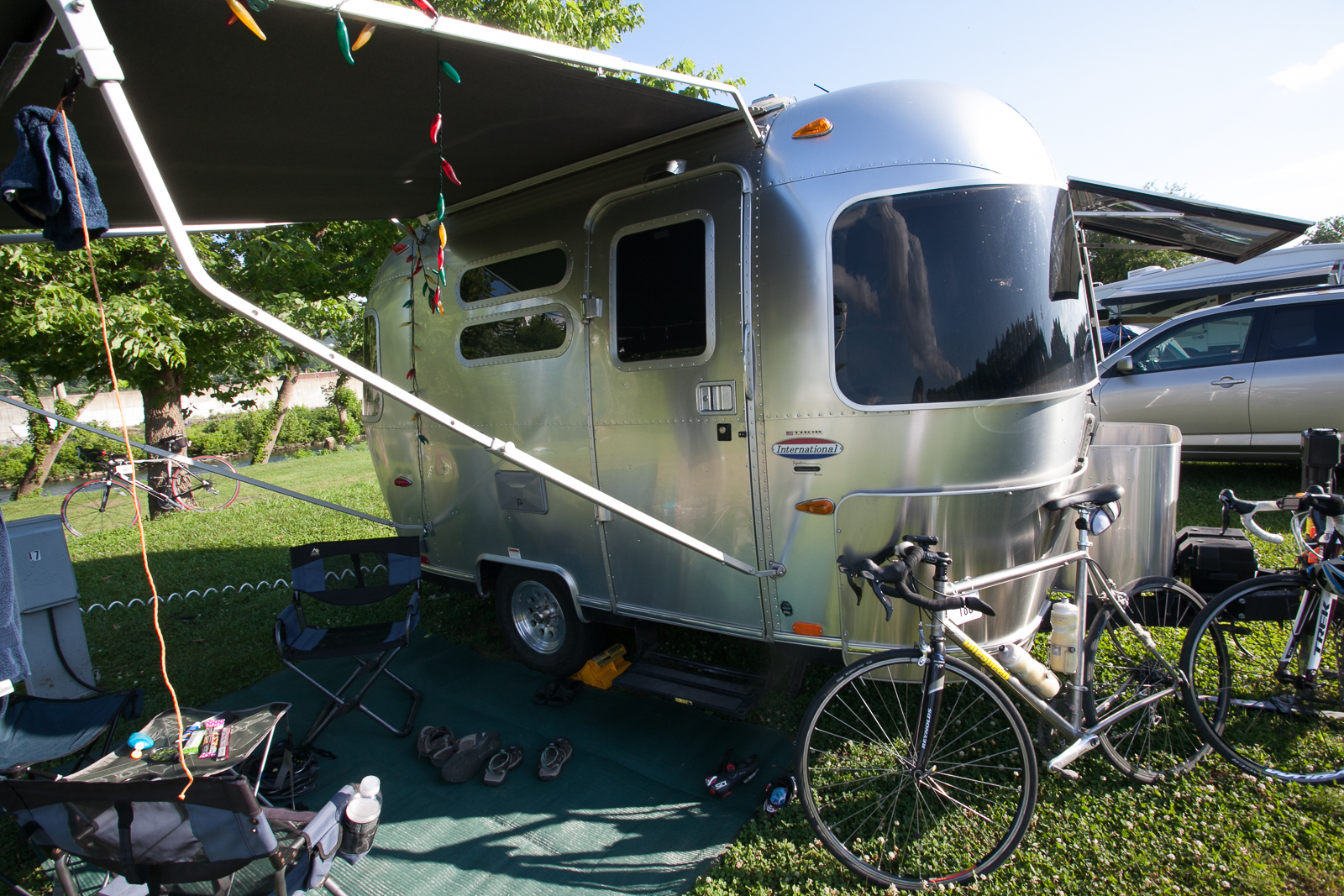 rv camping at bike virginia tour