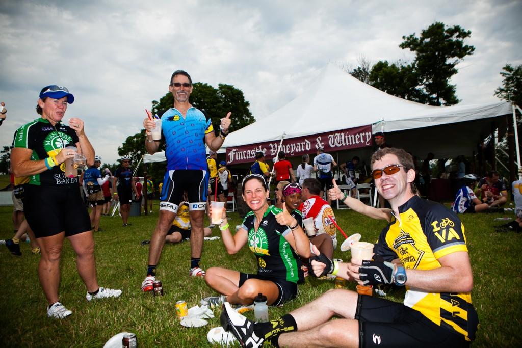Bike Virginia Rest Stop Food and Drink