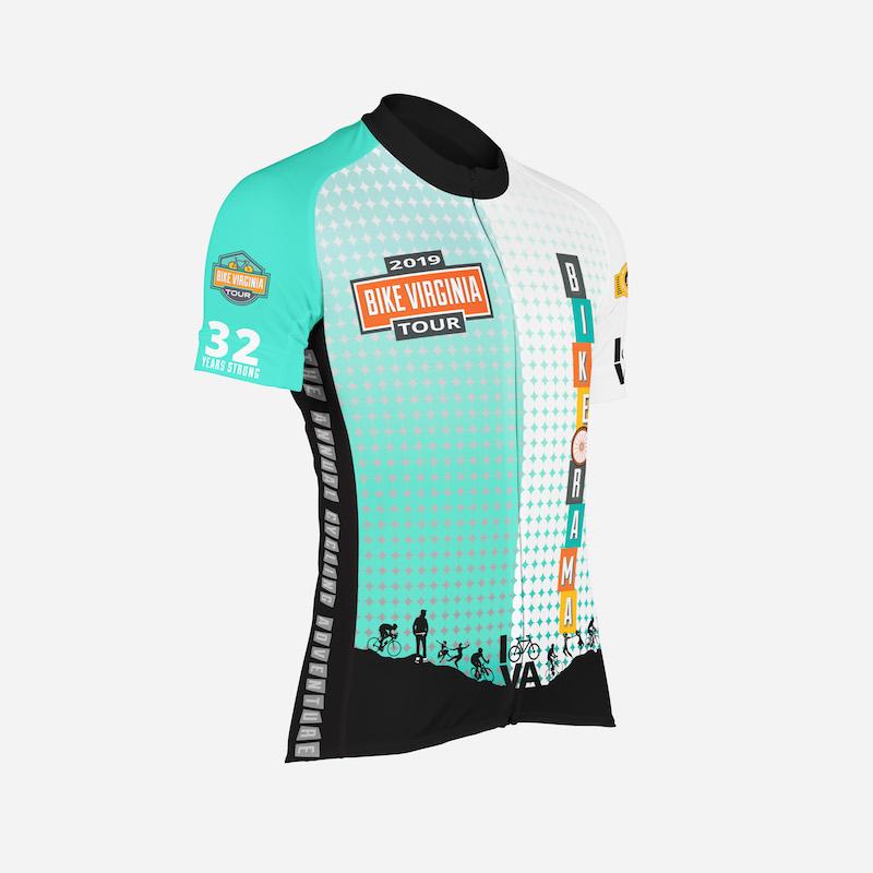 2019 Bike Virginia Jersey Design