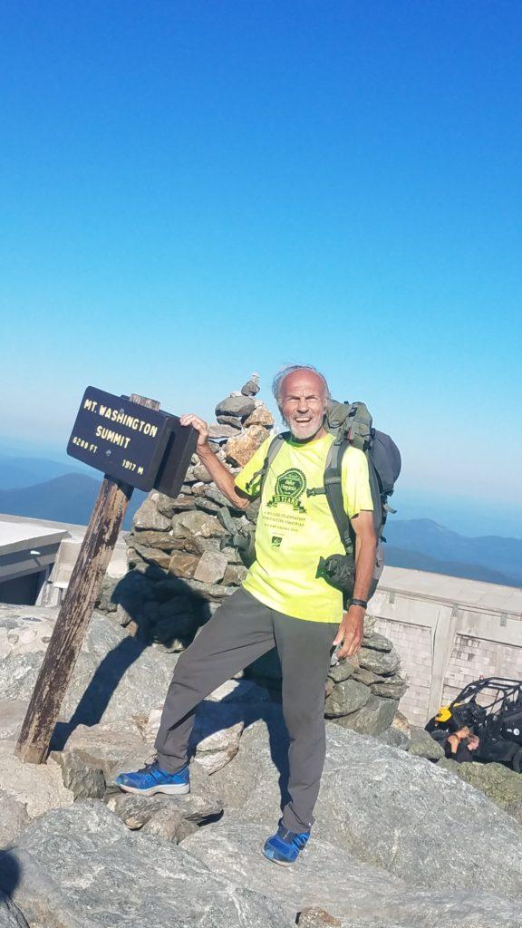 Dennis Bike Virginia Volunteer Hiking Appalachian Trail